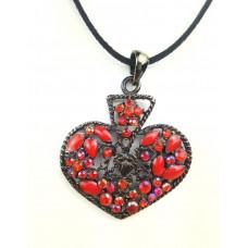 Амулет Рубиновое сердце