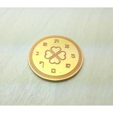 Монета с клевером